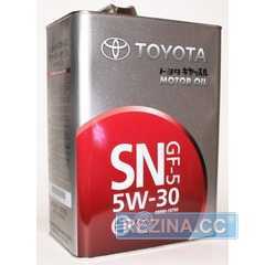 Купить Моторное масло TOYOTA MOTOR OIL SN 5W-30 GF-5 (4л)