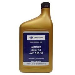 Моторное масло SUBARU Synthetic Motor Oil - rezina.cc