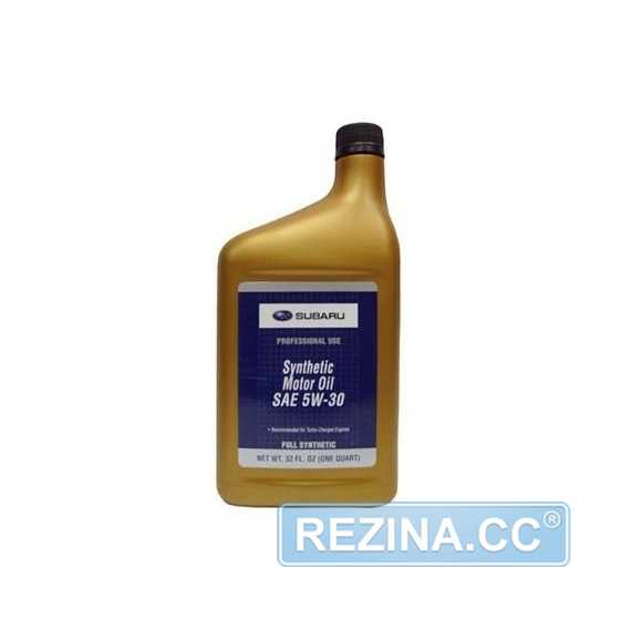 Моторное масло SUBARU Synthetic Motor Oil - rezina.cc