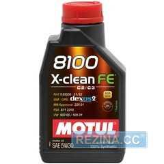 Моторное масло MOTUL 8100 X-clean FE - rezina.cc