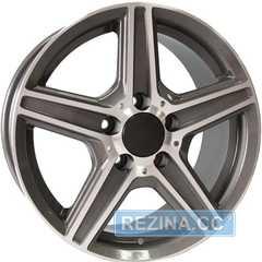 Купить TECHLINE 638 GRD R16 W7.5 PCD5x112 ET35 DIA66.6