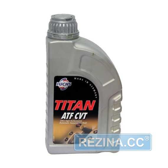 Трансмиссионное масло FUCHS Titan ATF CVT - rezina.cc