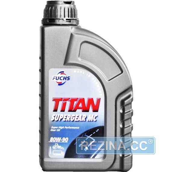 Трансмиссионное масло FUCHS Titan Supergear - rezina.cc