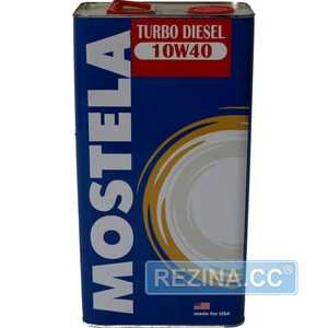 Купить Моторное масло MOSTELA Turbo Diesel 10W-40 (1л)