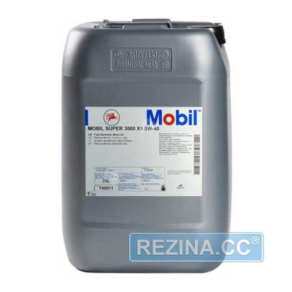 Моторное масло MOBIL Super 3000 X1 - rezina.cc