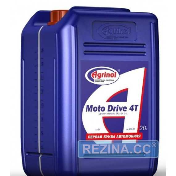 Масло для мотоциклов AGRINOL Moto Drive 4T - rezina.cc