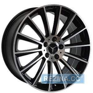 Купить REPLICA MR900 BKF R20 W9.5 PCD5x112 ET38 DIA66.6