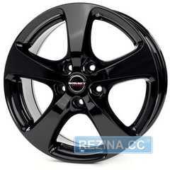 BORBET CC (F) black glossy - rezina.cc