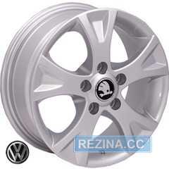 Купить REPLICA SKODA BK178 S R15 W6 PCD5x112 ET47 DIA57.1