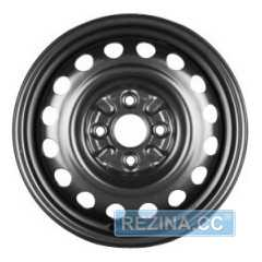 Купить KFZ 4940 Black R14 W4.5 PCD4x100 ET39 HUB54.1