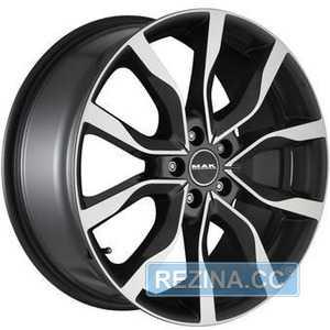 Купить MAK Highlands Black Mirror R20 W8.5 PCD5x120 ET47 DIA72.6