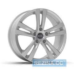 Купить Легковой диск MAK Zenith Hyper Silver R16 W6.5 PCD4x100 ET40 DIA72