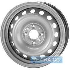 Купить TREBL 53A45D Silver R14 W5.5 PCD4x100 ET45 HUB57.1