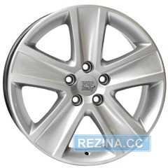 Купить WSP ITALY Cross Polo W463 HYPER SILVER R16 W7 PCD5x100 ET46 HUB57.1