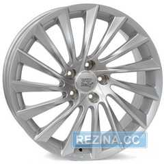 Купить WSP ITALY Giulietta W256 SILVER POLISHED R17 W7.5 PCD5x110 ET41 HUB65.1