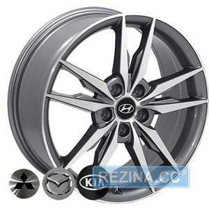 Купить REPLICA MAZDA BK862 GP R17 W7 PCD5x114.3 ET45 DIA67.1