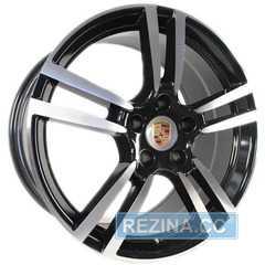 Купить REPLICA PORSCHE 581 BF R19 W8.5 PCD5x130 ET50 DIA71.6