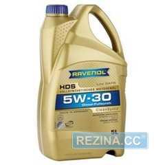 Купить Моторное масло RAVENOL HDS 5W-30 API SM (5л)
