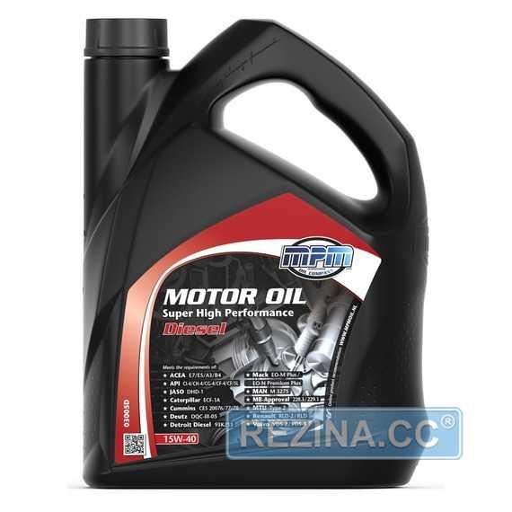 Моторное масло MPM Motor Oil Super High Performance Diesel - rezina.cc