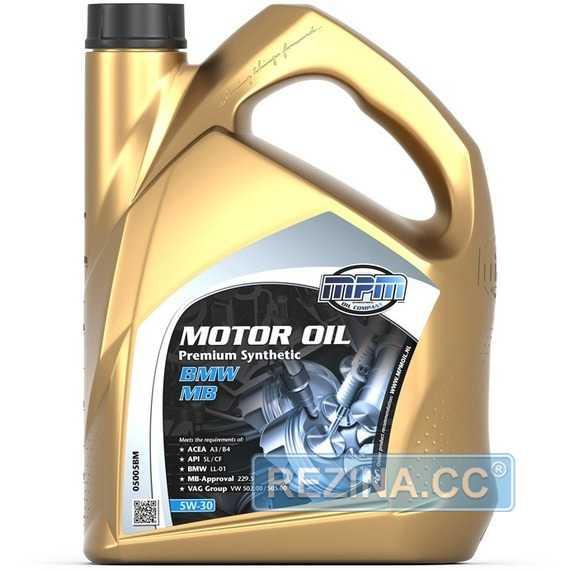 Моторное масло MPM Motor Oil Premium Synthetic - rezina.cc