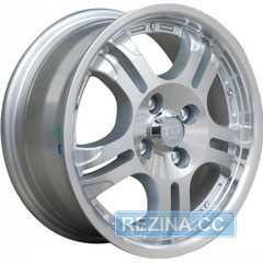 Купить TG RACING LYN001 Silver R13 W5.5 PCD4x100 ET38 DIA58.5