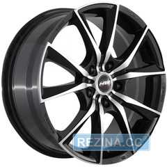 RW (RACING WHEELS) H712 BKF/P - rezina.cc