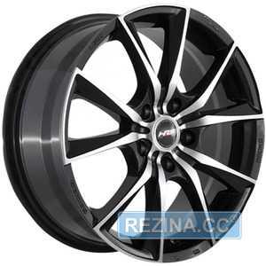 Купить RW (RACING WHEELS) H712 BKF/P R15 W6.5 PCD4x100 ET45 DIA67.1