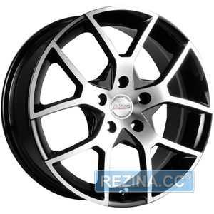 Купить RW (RACING WHEELS) H-466 BK-F/P R16 W7 PCD5x114.3 ET42 DIA67.1