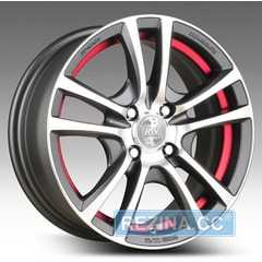 Купить RW (RACING WHEELS) H-346 DDN-IRD/FP R16 W7 PCD5x114.3 ET40 HUB67.1