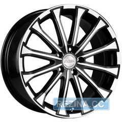 Купить RW (RACING WHEELS) H-461 BK-F/P R18 W7.5 PCD5x114.3 ET35 HUB60.1
