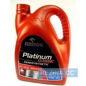 Купить Моторное масло ORLEN Platinum Classic 10W-40 (4.5л)