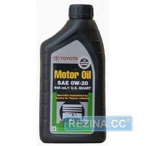 Купить Моторное масло TOYOTA MOTOR OIL 0W-20 (1л)