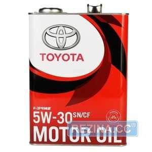 Купить Моторное масло TOYOTA MOTOR OIL 5W-30 SN/CF (4л)