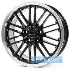 BORBET CW2 black rim polished - rezina.cc