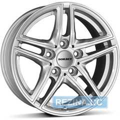 Купить BORBET XR brilliant silver R17 W7.5 PCD5x112 ET45 DIA66.6