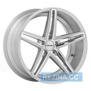 Купить VOSSEN CV5 Silver Polished R20 W10.5 PCD5x112 ET42 HUB66.56