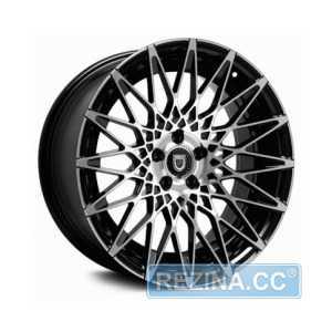 Купить LEXANI CCS16 BLK MF Face R20 W8.5 PCD5x120 ET35 HUB74.1