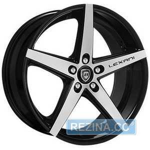 Купить LEXANI R-4 Mach Face/Blk R20 W8.5 PCD5x108 ET35 HUB74.1