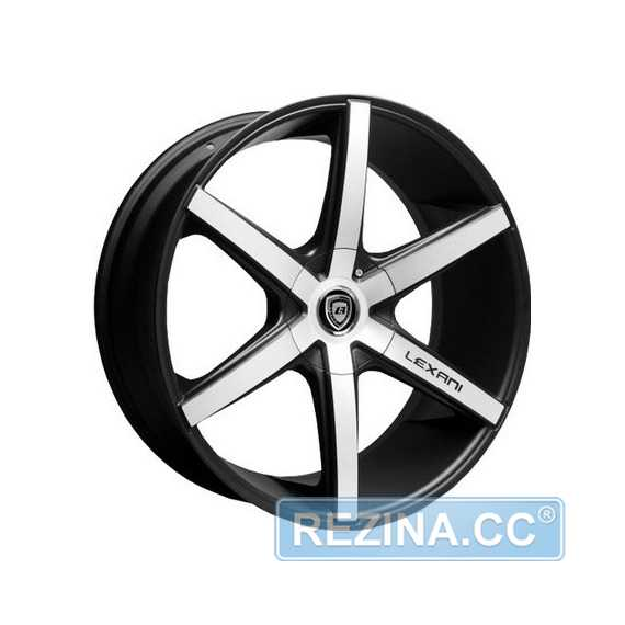 LEXANI R-6 Flat Blk/Mach Face - rezina.cc