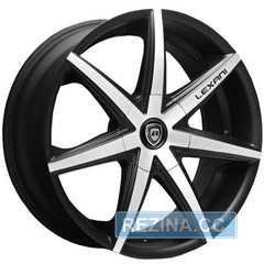 Купить LEXANI R-7 Mach Face/Blk R20 W8.5 PCD5x114,3 ET35 HUB74.1