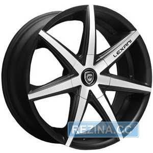 Купить LEXANI R-7 Flat Blk/Mach Face R19 W9.5 PCD5x120 ET42 HUB74.1