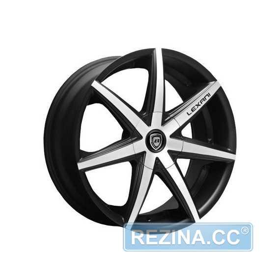LEXANI R-7 Flat Blk/Mach Face - rezina.cc