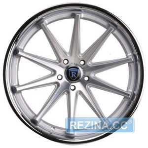 Купить Rohana RC10 Machine Silver/Chrome Lip R19 W8.5 PCD5x112 ET42 HUB66.6