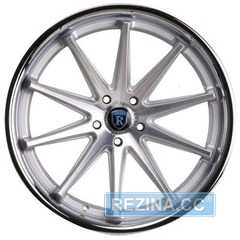 Купить Rohana RC10 Machine Silver/Chrome Lip R19 W9.5 PCD5x112 ET47 HUB66.6