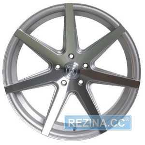 Купить Rohana RC7 Machine Silver R20 W10 PCD5x120 ET37 HUB72.56