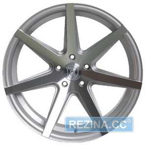Купить Rohana RC7 Machine Silver R20 W10 PCD5x120 ET32 HUB72.56