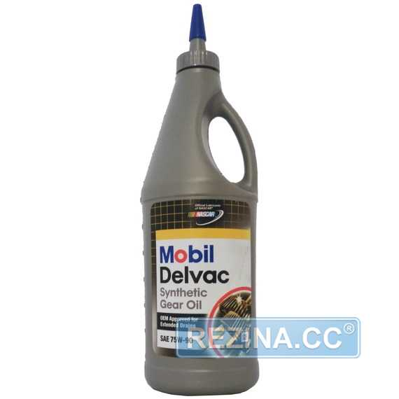 Трансмиссионное масло MOBIL Delvac Synthetic Gear Oil - rezina.cc