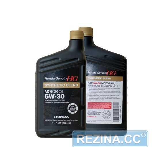 Моторное масло HONDA Synthetic Blend - rezina.cc