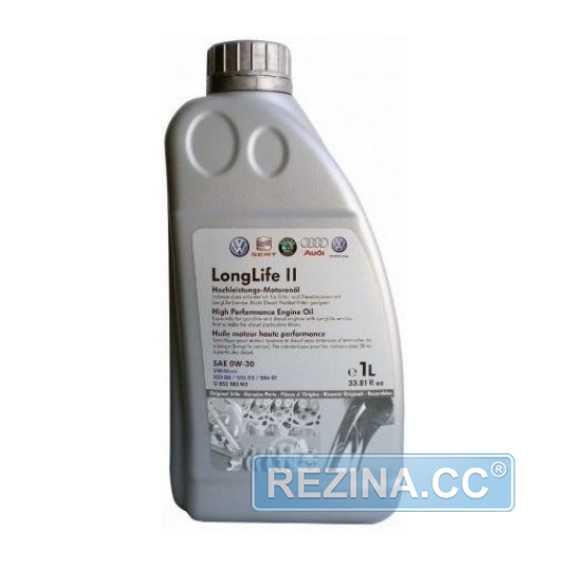 Моторное масло VAG Long Life II (G052183M2) - rezina.cc