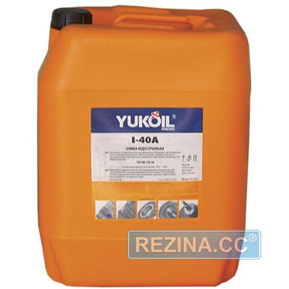 Индустриальное масло YUKOIL І-40А - rezina.cc